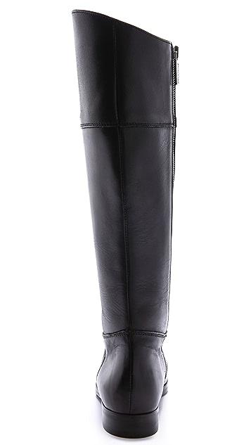 Studio Pollini Flat Tall Riding Boots