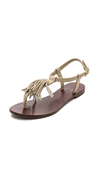 Studio Pollini Thong Tassle Sandals