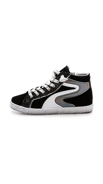 Studio Pollini High Top Sneakers