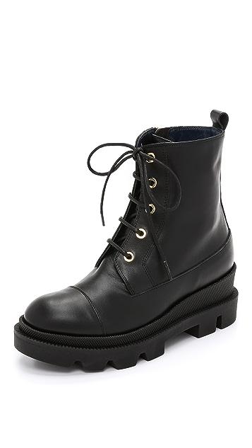 Studio Pollini Combat Boots