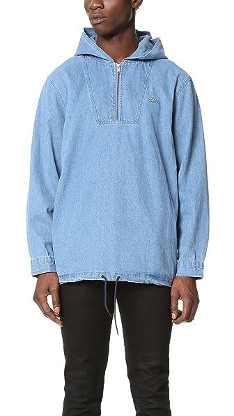 Stussy Denim Popover Jacket