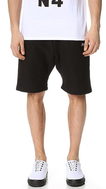 Stussy Stock Fleece Shorts