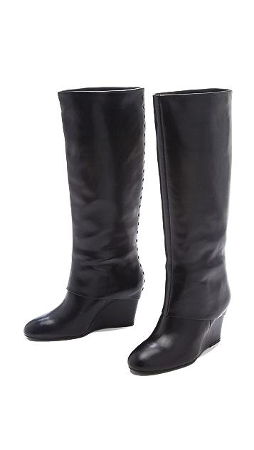Steven Mauraa Wedge Boots