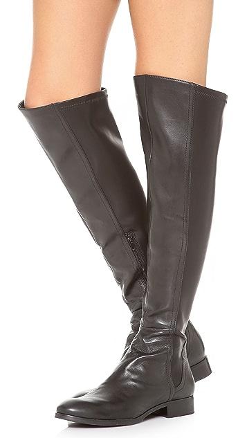 Steven Edeen Over the Knee Flat Boots