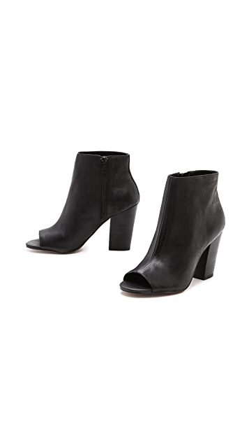 Steven Clara Open Toe Booties
