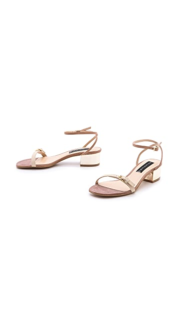 Steven Linda Low Heel Sandals