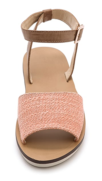 Steven Roburta Ankle Wrap Sandals
