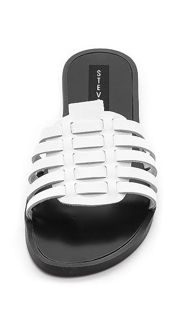 Steven Weaver Slide Sandals