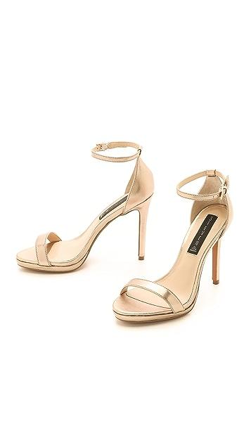 Steven Rykie Metallic Sandals