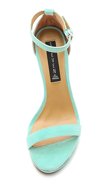 Steven Rykie Suede Single Band Sandals