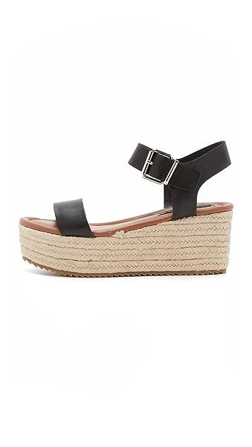Steven Sabbie Flatform Sandals
