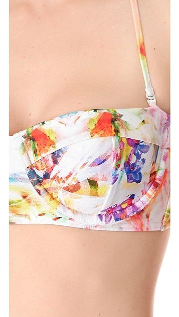 Suboo Married in Mustique Bustier Bikini Set
