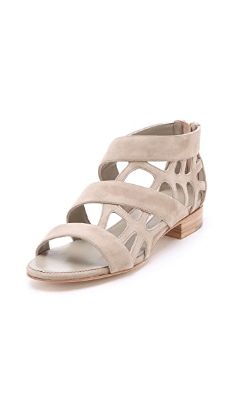 Suecomma Bonnie Web Flat Sandals