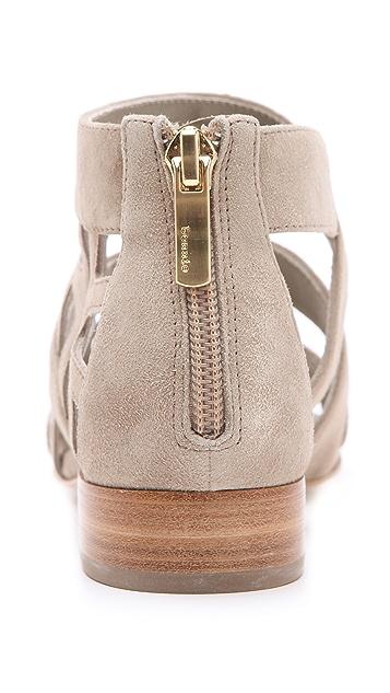 Suecomma Bonnie Web Flat Sandals