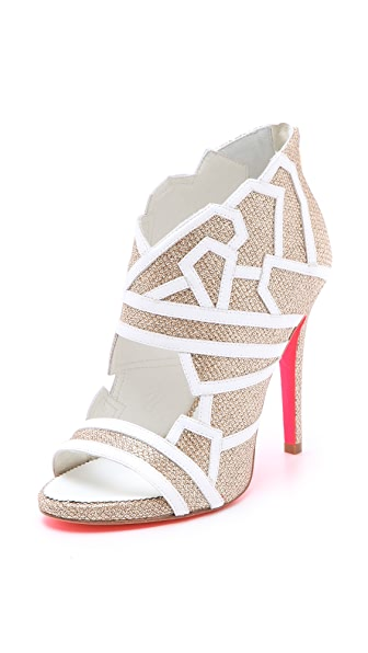 Suecomma Bonnie Bridal Web Booties