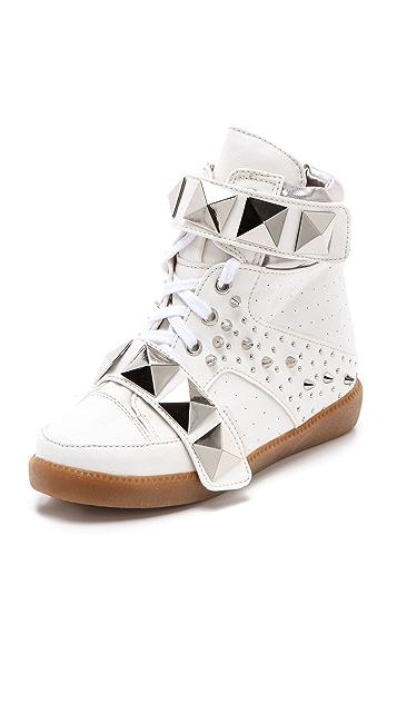 Suecomma Bonnie Studded Platform Sneakers