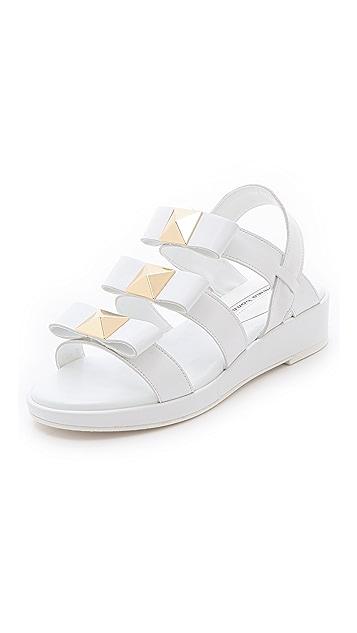 Suecomma Bonnie Triple Strap Stud Sandals