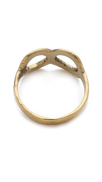 SunaharA Malibu Infinity Mid Knuckle Ring