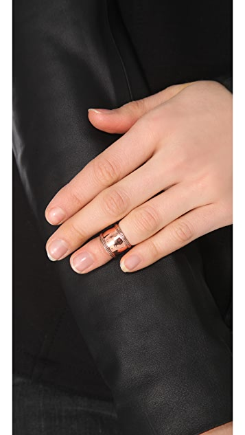 SunaharA Malibu Ornate Mid Knuckle Ring