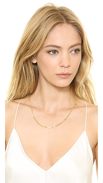 SunaharA Malibu Layered Coin Necklace