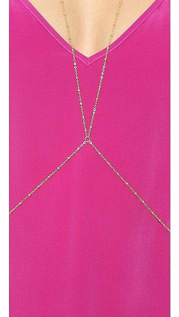 SunaharA Malibu Beaded Body Chain