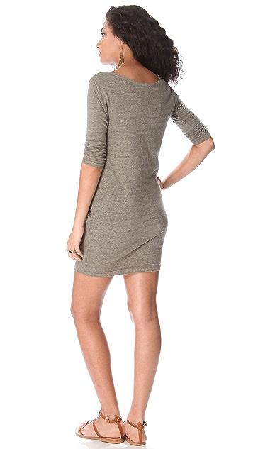 SUNDRY 3/4 Sleeve Dress