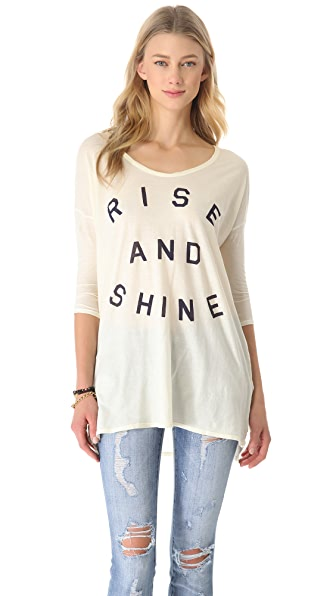 SUNDRY Rise & Shine Top