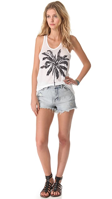 SUNDRY Palm Tree Tank
