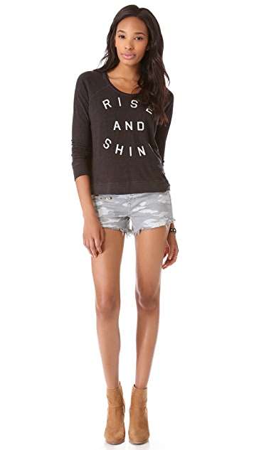 SUNDRY Rise & Shine Pullover