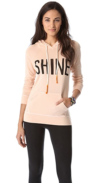 SUNDRY Shine Pullover Hoodie