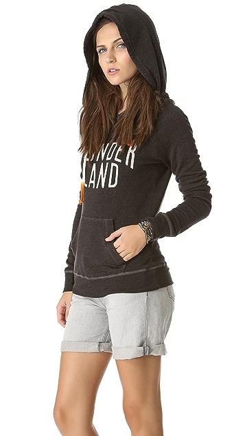 SUNDRY Wonderland Pullover Hoodie