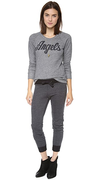 SUNDRY Angels Raglan Top
