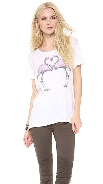 SUNDRY Flamingo Tee