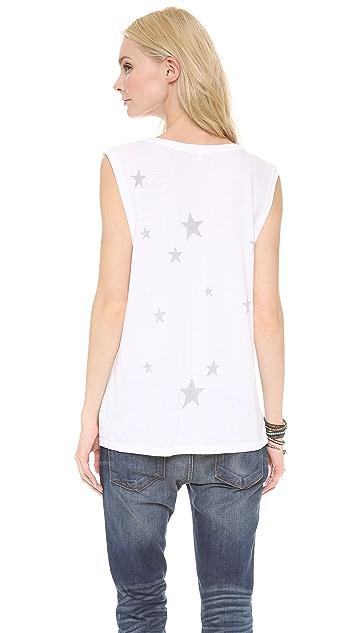 SUNDRY Stars Muscle Tee