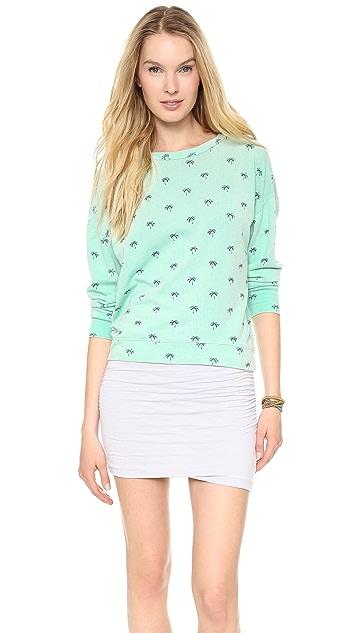SUNDRY Palm Sweatshirt