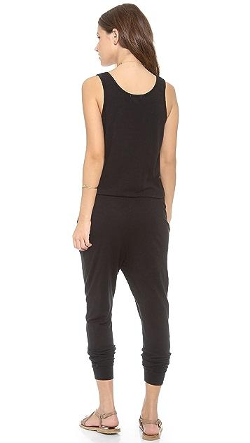 SUNDRY Sleeveless Jumpsuit