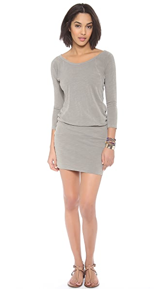 SUNDRY Long Sleeve Dress