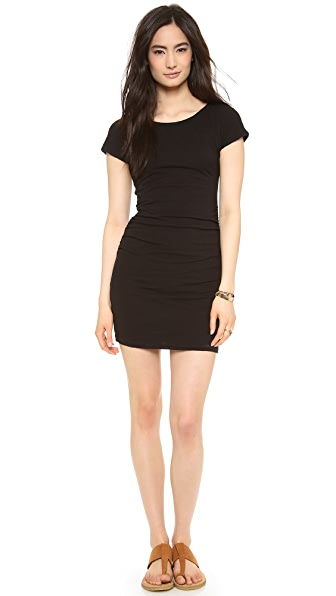 SUNDRY Boat Neck Dress