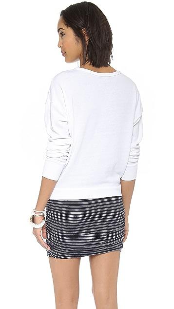 SUNDRY La Voile Sweatshirt