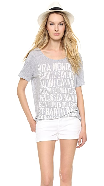 SUNDRY Destinations Tee