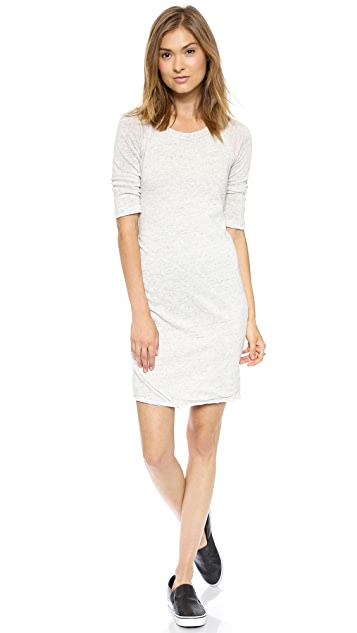 SUNDRY Side Ruched Dress