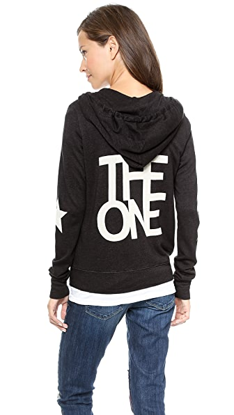 SUNDRY The One Zipper Hoodie