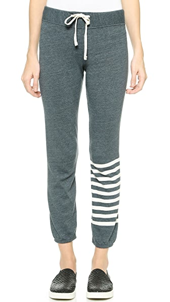 SUNDRY Stripe Classic Sweatpants
