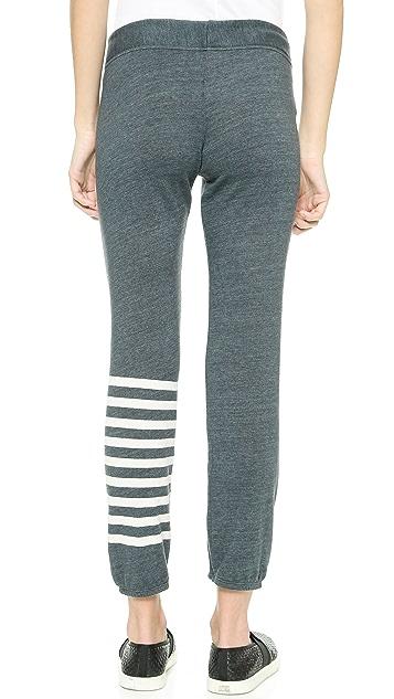 SUNDRY Stripe Classic Sweatpants