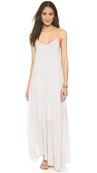 Kupi SUNDRY online i prodaja Sundry Contrast Beach Dress Grey haljinu online
