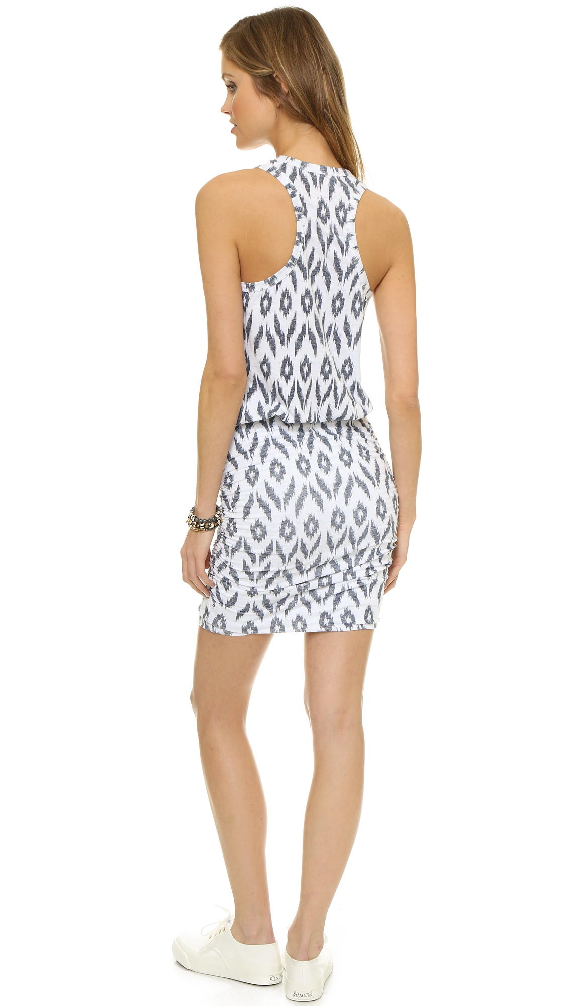 c6eac0d043534 SUNDRY Ikat Sleeveless Dress