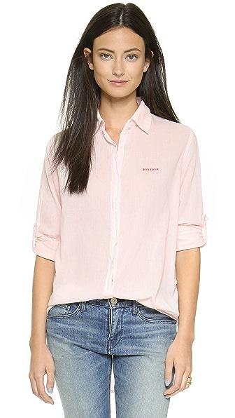 SUNDRY Bonjour Oversized Shirt