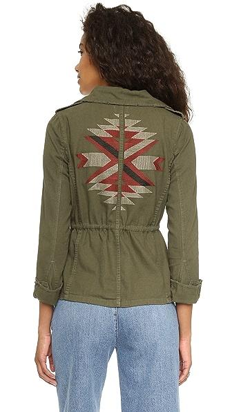 Sundry Traveler Army Jacket - Dark Army