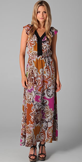 Sunner Willow Long Print Dress