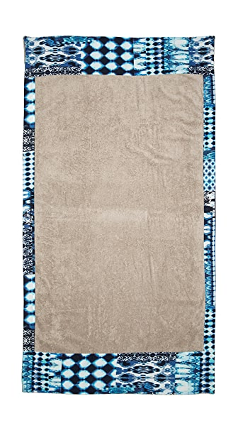 Sun Of A Beach Mykonos Blues Towel